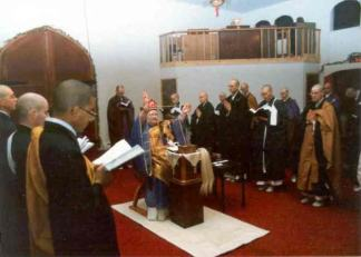 Ceremony at Shasta Abbey